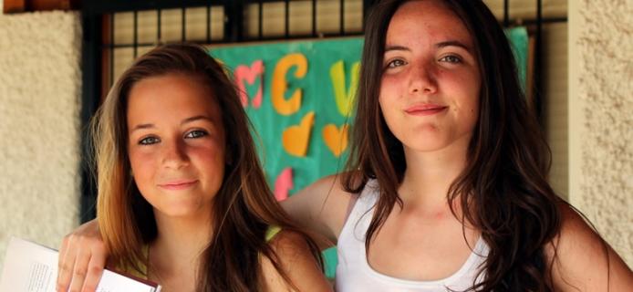 Noelia y María